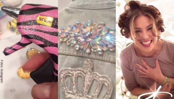#Tutorial: Thalía te muestra cómo personalizar tu chaqueta de jean