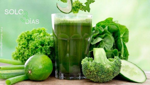 "Dieta verde ""milagrosa"" para desintoxicarte"