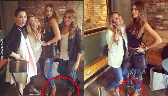 Cómo combinar jeans con tacones según Sofía Vergara