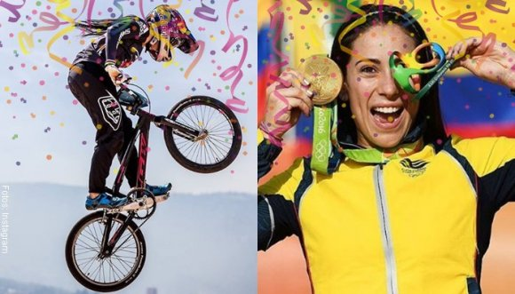 ¡Mariana Pajón cumple 25 años de pura fibra y pensamiento positivo!