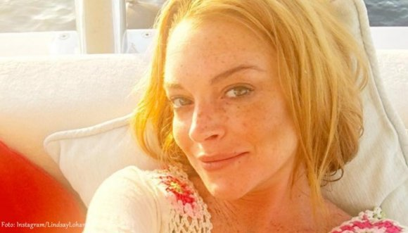 Lindsay Lohan se quitó medio dedo así… (Fotos)