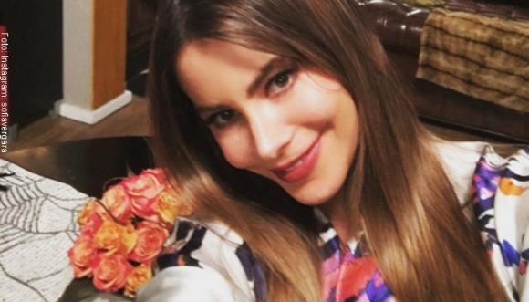 Sofía Vergara enseña cómo sacarse una selfie