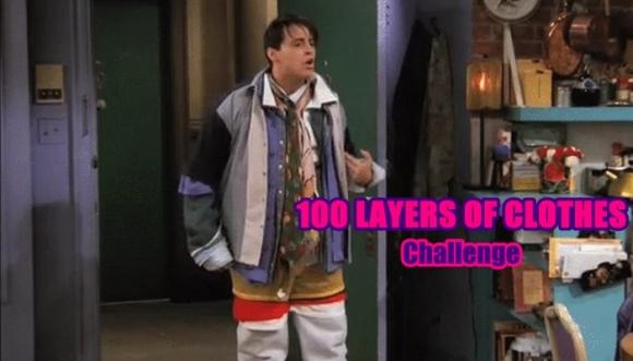 El reto de las 100 prendas que salió mal (Video)