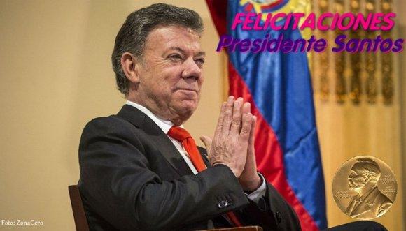 Nobel de Paz para Colombia, la Paz que todos queremos