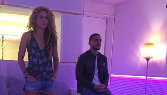 """Así fue el detrás de cámaras de """"Chantaje"""" de Shakira y Maluma"""