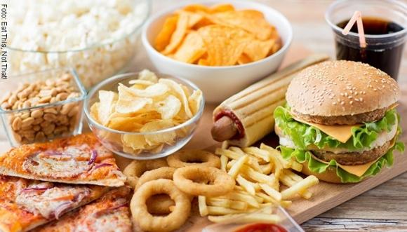 ¿Con cuánto ejercicio quemas cada comida rápida?