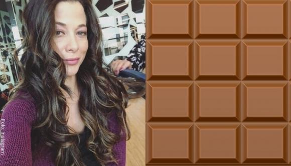 Estefanía Borge revolucionó las redes con su chocolatina