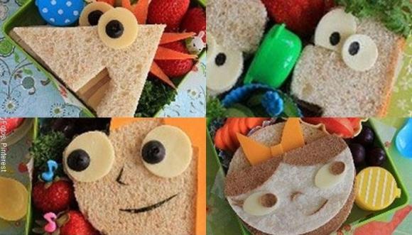 Sándwiches tan bonitos que no te los podrás comer