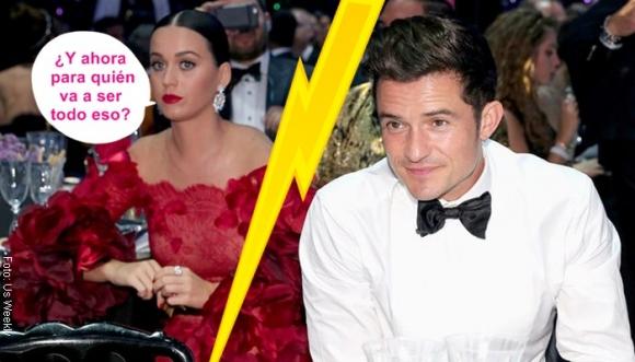 Katy Perry extrañará las dotes de Orlando Bloom en el amor