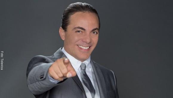 """""""Me gusta el dedito"""": Cristian Castro"""