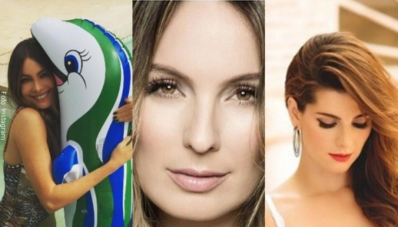 Vestidos de baño más lindos de las famosas colombianas