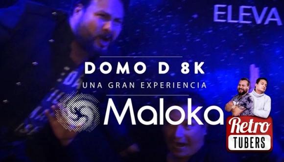 Los Retrotubers aceptaron el reto de Maloka