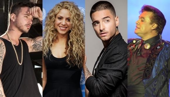 Las 10 canciones más buscadas en Google en Colombia