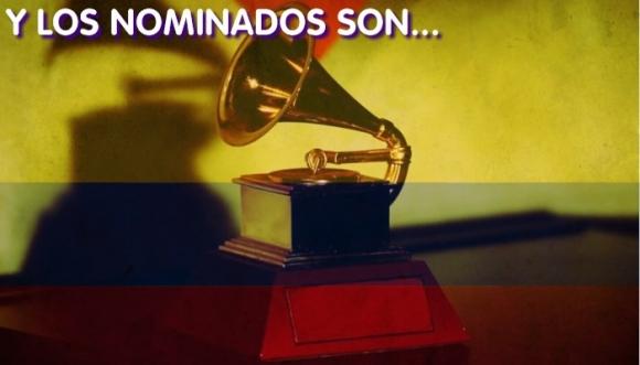 Ellos son los colombianos nominados al GRAMMY 2017