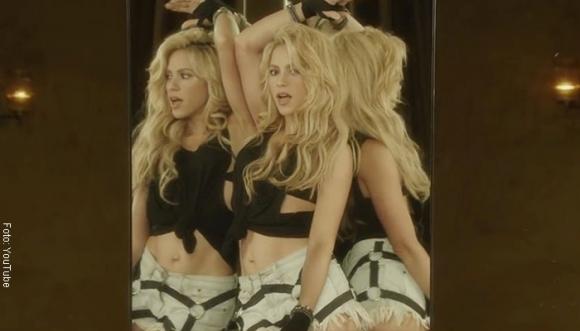Shakira pone en forma a millones a punta de Chantaje