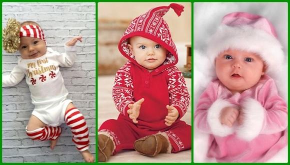 Pintas navideñas divinas para tu bebé