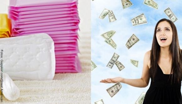 ¿Cuánto gastamos las mujeres en toallas higiénicas?