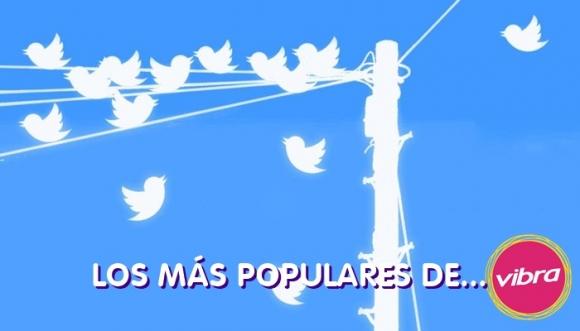 Ranking de los tuiteros de Vibra