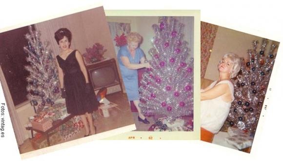 ¿Recuerdas el arbolito de Navidad metálico?