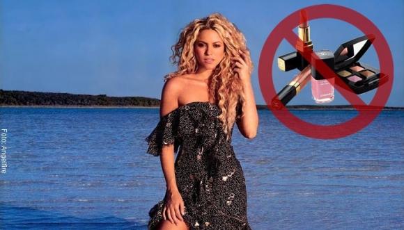 ¿Cómo se ve Shakira sin una gota de maquillaje?