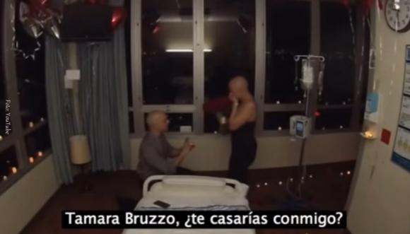 En su último día de quimioterapia le propusieron matrimonio