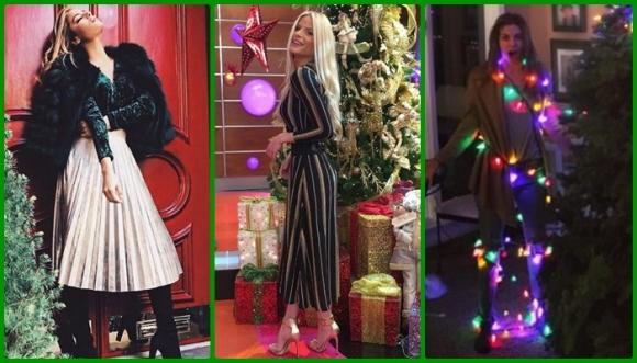 Las famosas se visten de Navidad