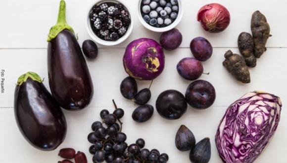 ¿Conocías la dieta morada? Te la presentamos