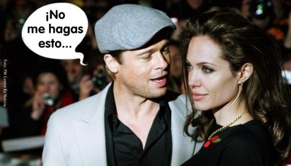 ¿Qué será lo que quieren ocultar de Brad Pitt?