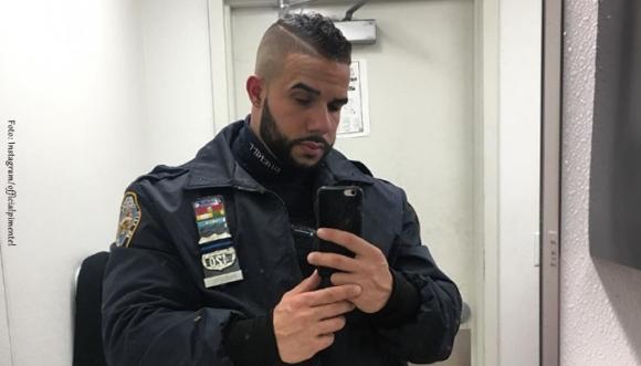 """Este sexy policía nos dejó en deuda con """"aquello"""" (Fotos)"""