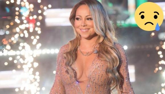 Con pie izquierdo comenzó el 2017 de Mariah Carey
