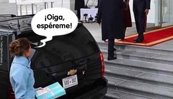 Más ignorada que Melania Trump (Fotos)