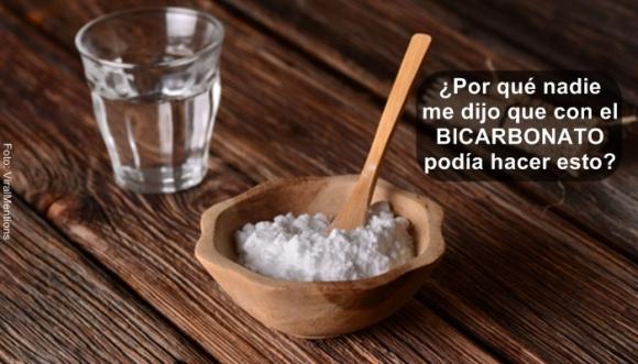 Con el bicarbonato de sodio puedes hacer esto...