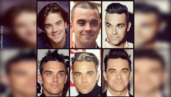 Robbie Williams celebra su cumpleaños... ¡En bola!