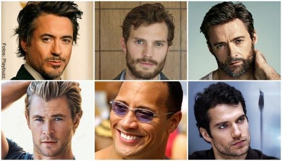 """¿Con cuál de estos actores te """"desordenarías""""?"""
