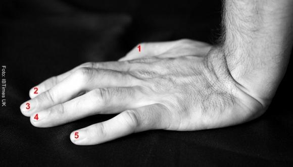 Aprende a leer los dedos de tu pareja