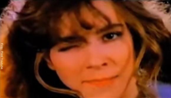 Gloria Trevi... ¡18 años después del pelo suelto!
