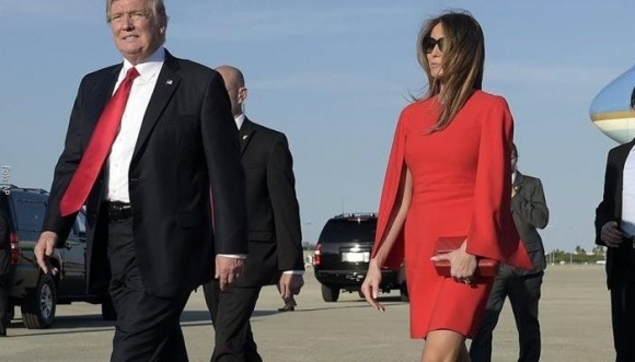 Otro desplante de Trump a Melania, ¡pobrecita! (Video)