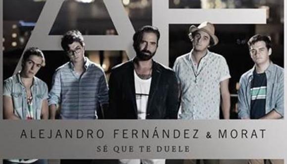 Sé que te duele, lo nuevo Alejandro Fernández y Morat