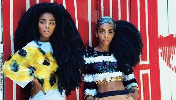 """¡El pelo de estas gemelas te dejará """"plop""""!"""