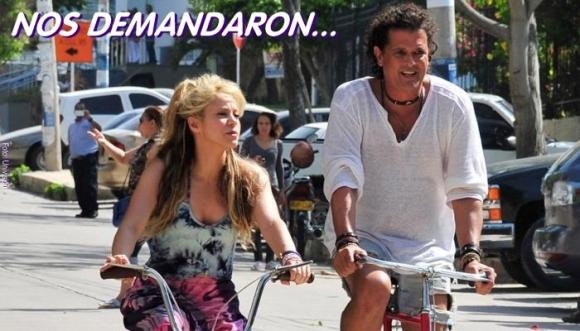 """Vives y Shakira, demandados por plagio en """"La Bicicleta"""""""