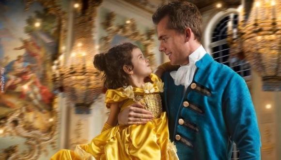 Convirtió a su hija en la protagonista del cuento de hadas