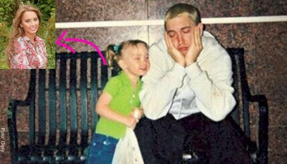 ¡Se le creció la hija a Eminem!