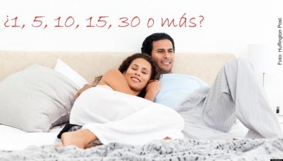 ¿Cuántas veces al mes haces el amor?