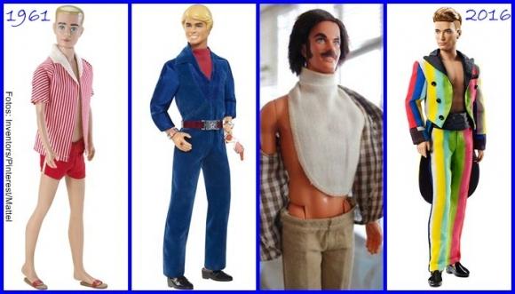 ¿Cómo ha cambiado Ken en 56 años?
