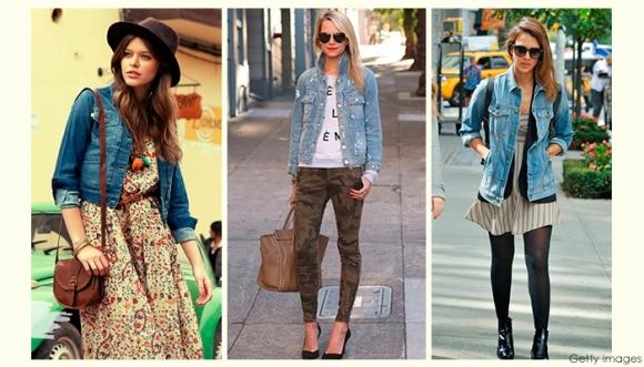 Pintas divinas con chaqueta de jean