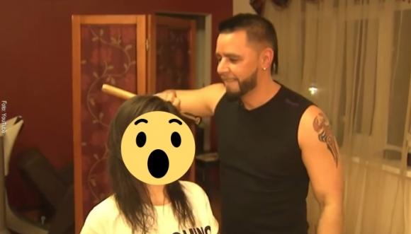 En Rusia cortan el pelo con… ¿Hachas? (Video)
