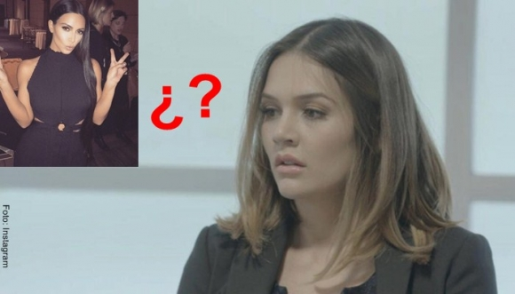 ¿Lina Tejeiro imita look de Kim Kardashian?