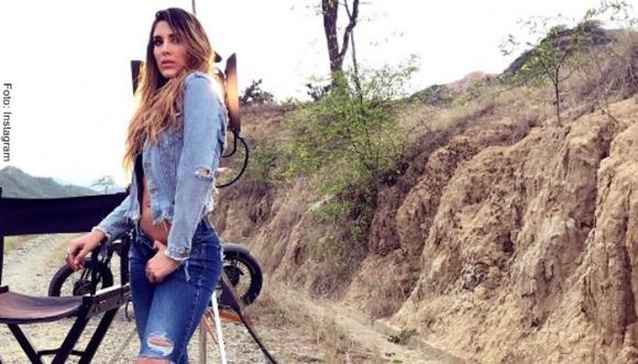 #VIDEO: Daniela Ospina suda la gota gorda...
