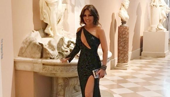 """Thalía tuvo un """"lapsus"""" en sus redes sociales"""