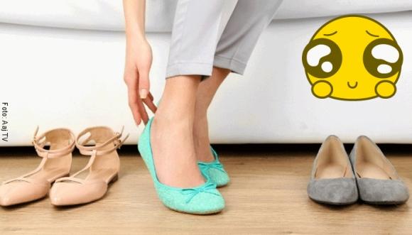 15 pintas divinas con zapatos bajitos
